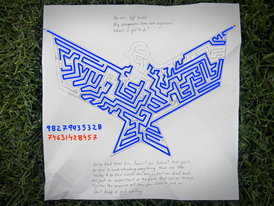 """La solución al puzle del Origami 16 es: """"98279935328"""" y """"74631428457"""""""