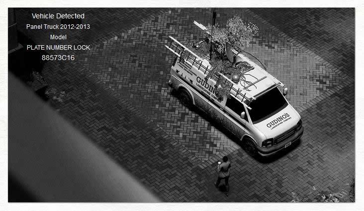 """Número del vehículo sospechoso a rastrear: """"88573C16"""""""