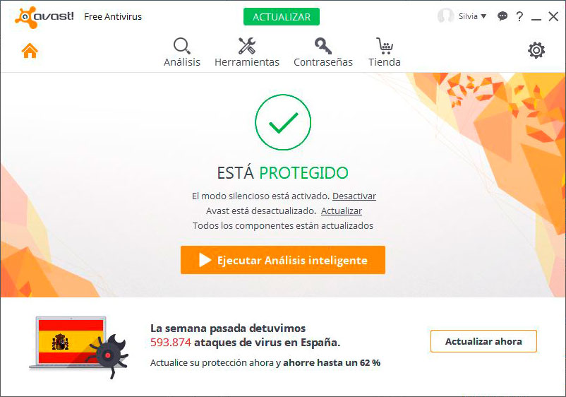 Quitar Firma Avast - Paso 1